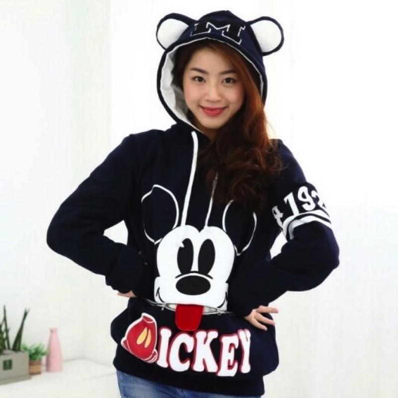 Couple Mickey Mouse Sweater Sweater - Korean Fashion