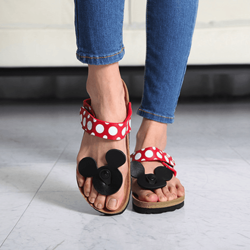 Mickey Mouse Spotted Sandals