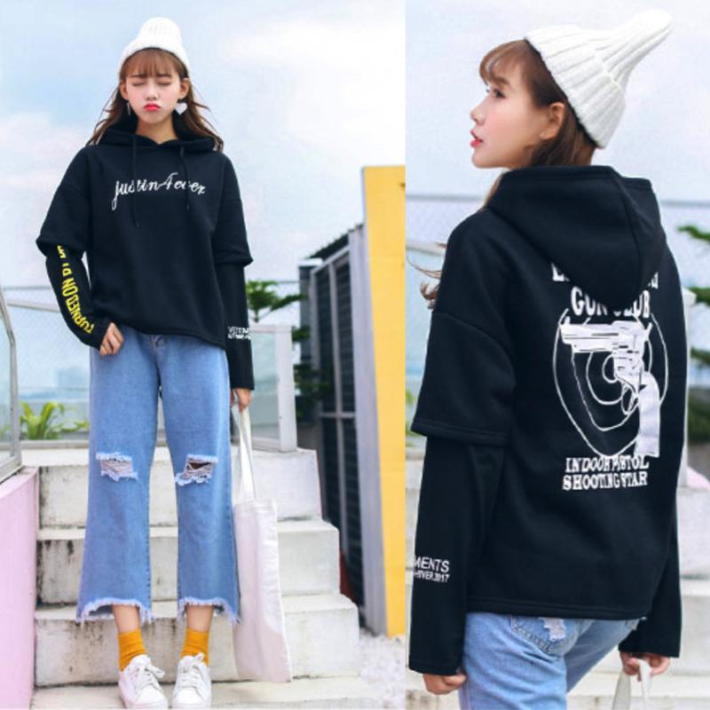 Outerwear Hoodie Jacket Jacket - Korean Fashion