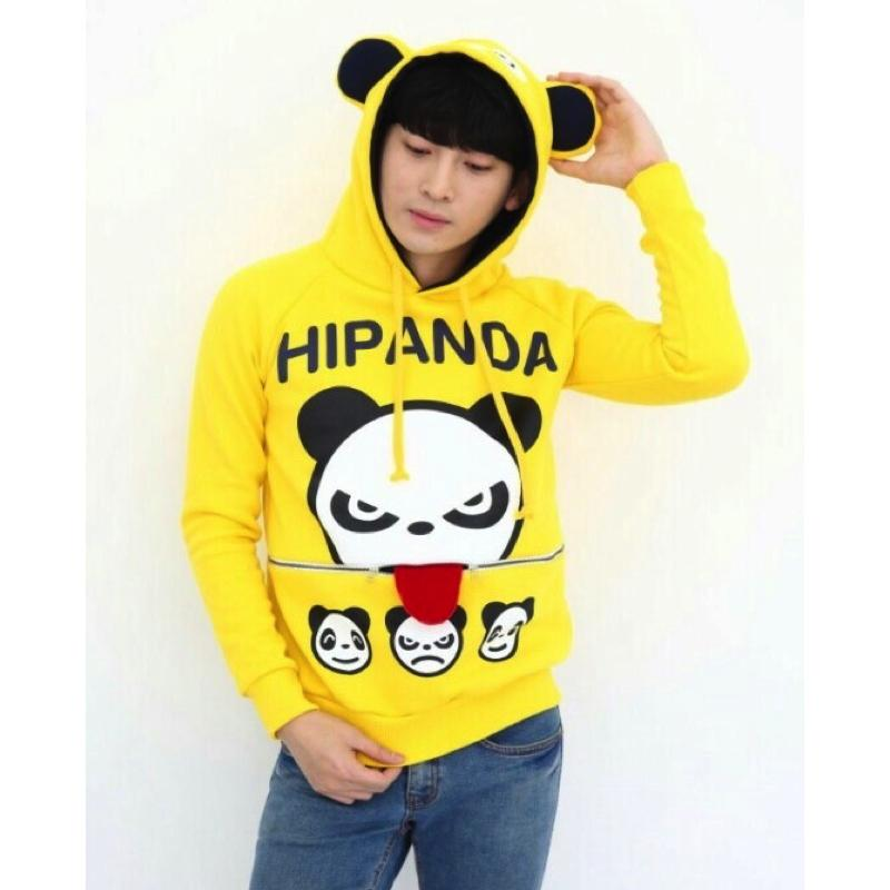 Couple Panda Sweater Sweater - Korean Fashion