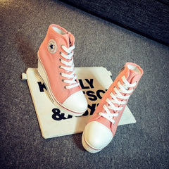 Korean Fashion - Shoes and Clothing - Platform Wedge Sneakers - Wedge Sneakers -  - Gangnam Styles - 6