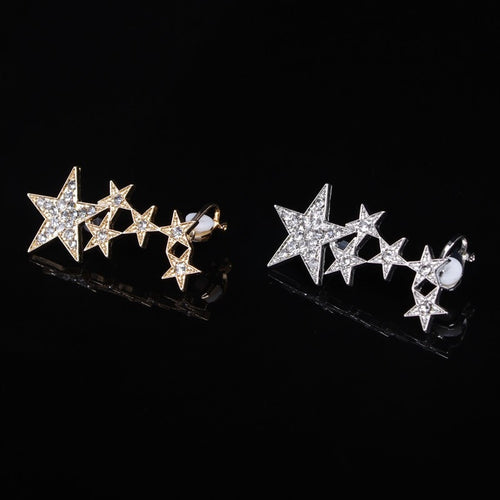 Korean Fashion - Shoes and Clothing - Star Stud Earrings - Necklace -  - Gangnam Styles - 2