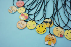 Korean Fashion - Shoes and Clothing - Cartoon Emoji Charm Necklace - Necklace -  - Gangnam Styles - 20