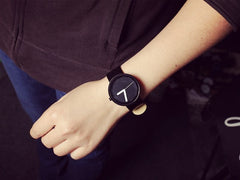 Korean Fashion - Shoes and Clothing - Leather Couple's Watch Pair - Watch -  - Gangnam Styles - 6