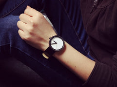Korean Fashion - Shoes and Clothing - Leather Couple's Watch Pair - Watch -  - Gangnam Styles - 4