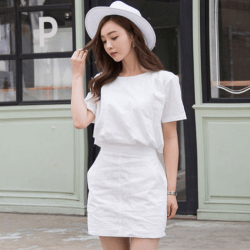 Butterfly Semi Formal Dress Dress - Korean Fashion