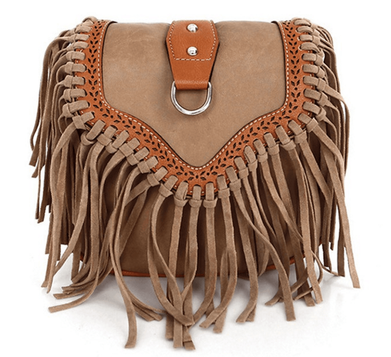 Tassel Travelling Bag Accessories - Korean Fashion