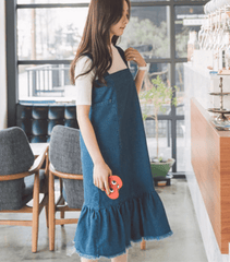 Korean Fashion - Shoes and Clothing - Set Jumper Long Skirt and Shirt - Dress -  - Gangnam Styles - 4