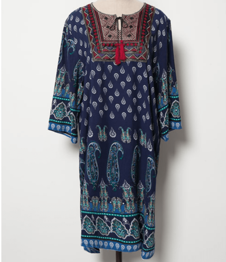 Boho Chic Hippie Dress Dress - Korean Fashion
