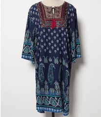 Korean Fashion - Shoes and Clothing - Boho Chic Hippie Dress - Dress -  - Gangnam Styles - 5