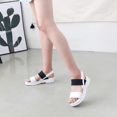 Flat Sandals Sandals - Korean Fashion