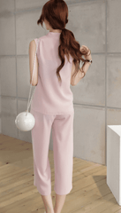 Korean Fashion - Shoes and Clothing - Korean Set Sleeveless and Pants - Set Dress -  - Gangnam Styles - 3