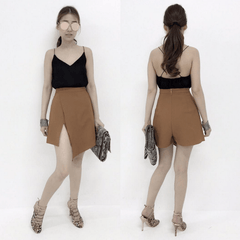Korean Fashion - Shoes and Clothing - Strap Top Backless Sleeveless - Top Dress -  - Gangnam Styles - 5