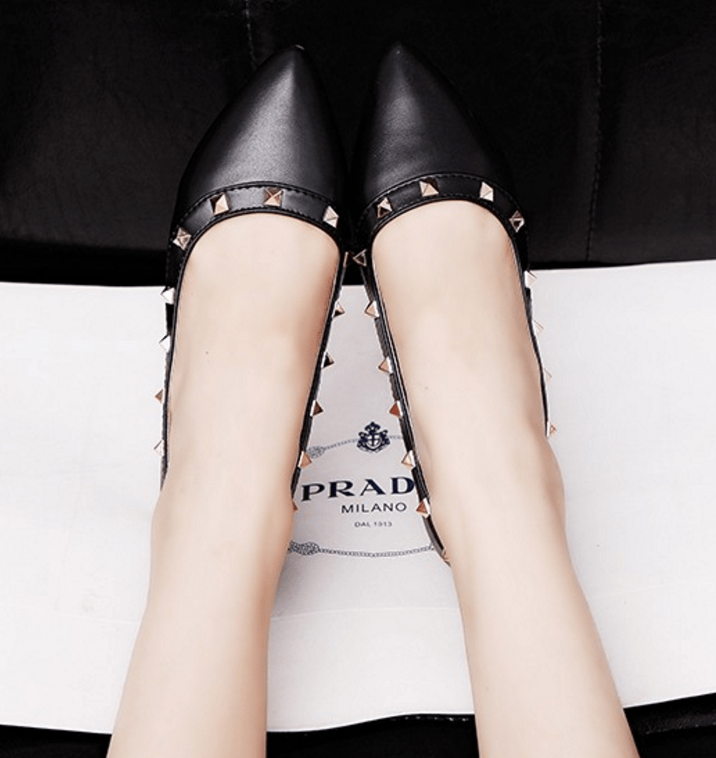 Korean Fashion - Shoes and Clothing - Elegant Matte Flat Shoes - Shoes -  - Gangnam Styles - 6