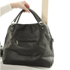 Korean Fashion - Shoes and Clothing - Vintage Weave Hand Bag - Bag - Black - Gangnam Styles - 2
