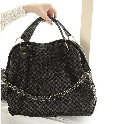 Korean Fashion - Shoes and Clothing - Vintage Weave Hand Bag - Bag -  - Gangnam Styles - 1