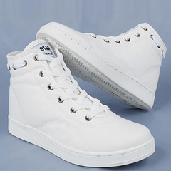 Spring Lace-up Sneakers Sneakers - Korean Fashion
