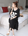 Bad Long Dress Dress - Korean Fashion