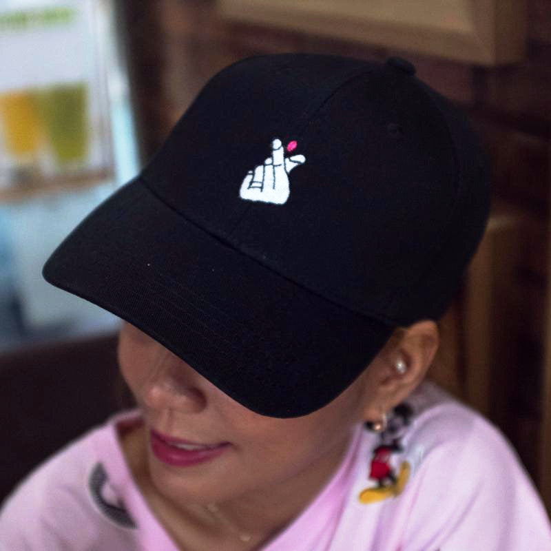 I Love You Cap Cap - Korean Fashion
