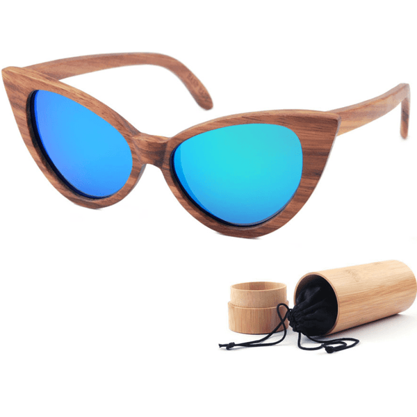Vintage Cat-Eye Polarized Sunglasses