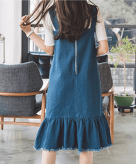 Korean Fashion - Shoes and Clothing - Set Jumper Long Skirt and Shirt - Dress -  - Gangnam Styles - 3