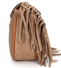 Tassel Travelling Bag Bag - Korean Fashion