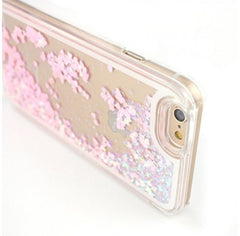 Liquid Sand Glitter Heart Back Case for IPhone 6 iPhone Case - Korean Fashion