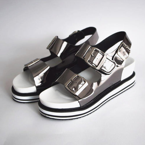 Open Toe Women's Platform Strap Sandals