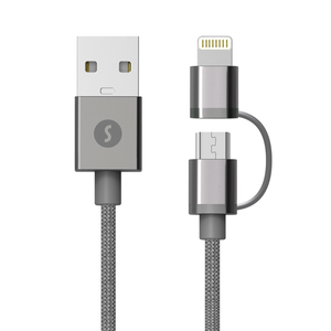 Cable 1 - Lightning & Micro USB Cable