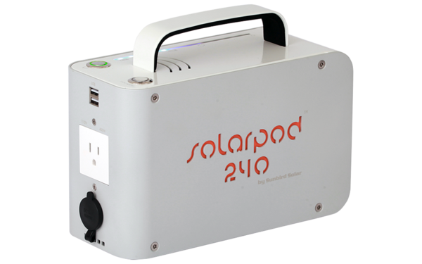Solpro Hybird Solar Electric Battery Packs Power To Go