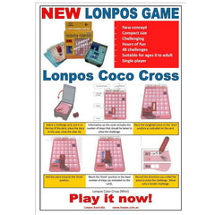 Lonpos Mini Coco Cross instructions