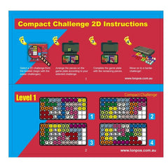 Lonpos 101 Compact Challenge instructions