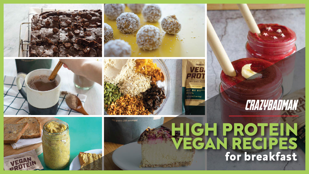 7 High Protein Vegan Breakfast Recipes