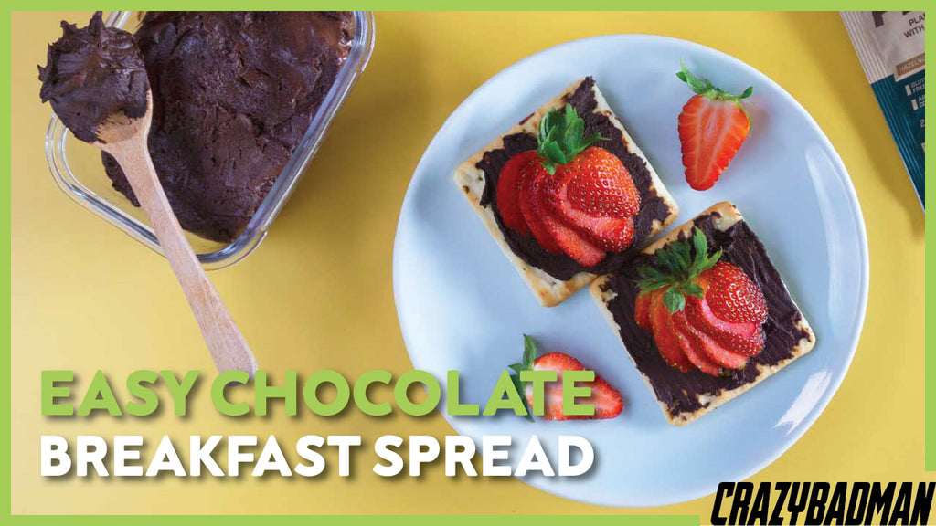 High Protein Vegan Protein Recipes | Easy Chocolate Breakfast Spread