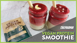 High Protein Vegan Protein Recipes | Singapore National Day Smoothie