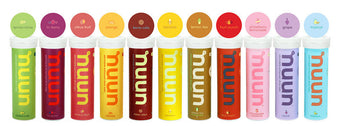 Nuun Electrolyte Flavours available in Singapore