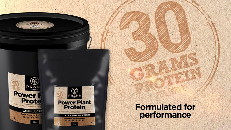 Prana On Power Plant Protein Flavours available in Singapore