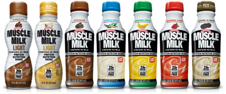 Muscle Milk Flavours available in Singapore