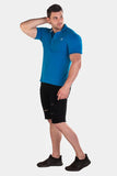 Jed North: Premiere Polo Shirt - Blue