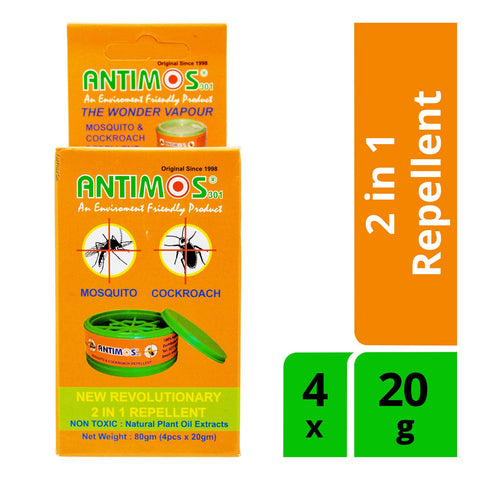 Antimos Insect Repellent (Pack of 4)