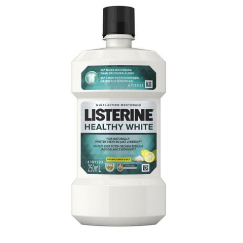 Listerine: Mouthwash Healthy White