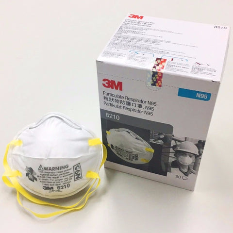 3M N95 Particulate Respirator Mask, 20 Pcs/Box