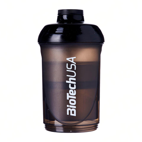 BioTechUSA: Shaker Bottle With Compartments 600 ML (+200 ML +100 ML)