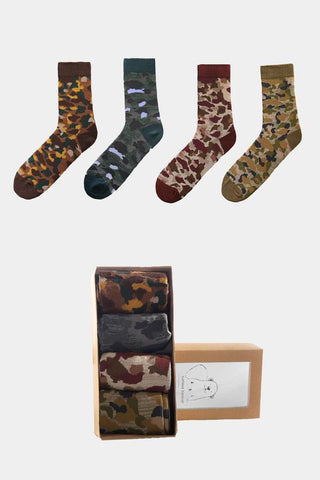 Jed North: Camo Socks Collection