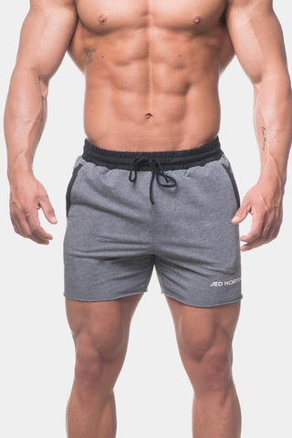 Jed North: Titan Sweat Shorts - Gray