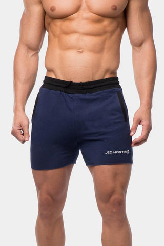 Jed North: Titan Sweat Shorts - Blue