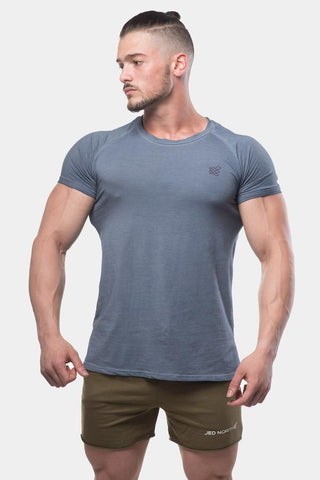 Jed North: Vintage Washed T-Shirt - Blue