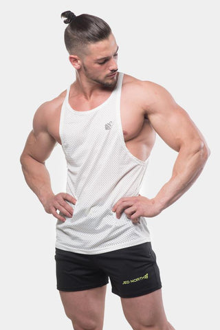 Jed North: Phoenix Mesh Stringer - White