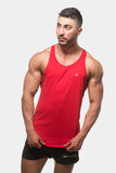 Jed North: Microfiber Dri-Fit Stringer - Red