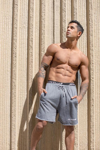 Jed North: Stance Athletic Sweat Shorts - Light Gray